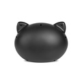 Black Cat Cave with Beige Cushion 3