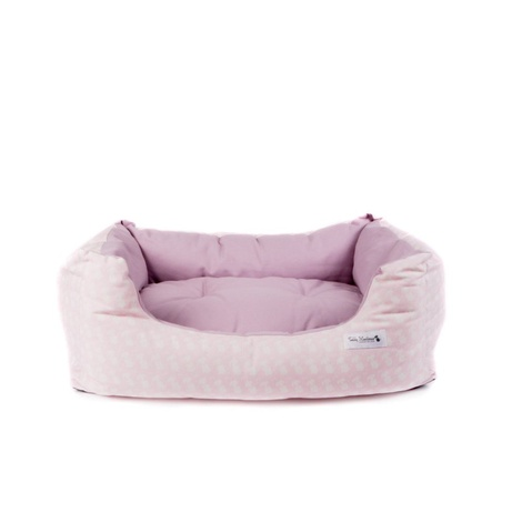 Teddy Maximus Pink Slumber Dog Bed 2