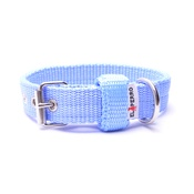 El Perro - Double Dog Collar – Baby Blue