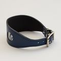 Geo Blue Hound Collar 2