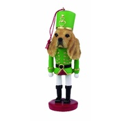NFP - Cocker Spaniel Nutcracker Soldier Ornament
