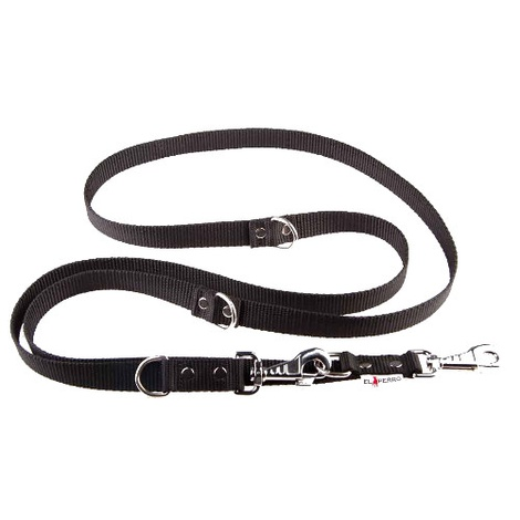 Adjustable Juicy Style Dog Lead - Black