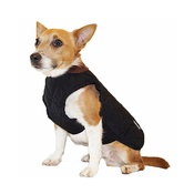 Pawberry - Chelsea Winter Warmer Dog Coat - Black