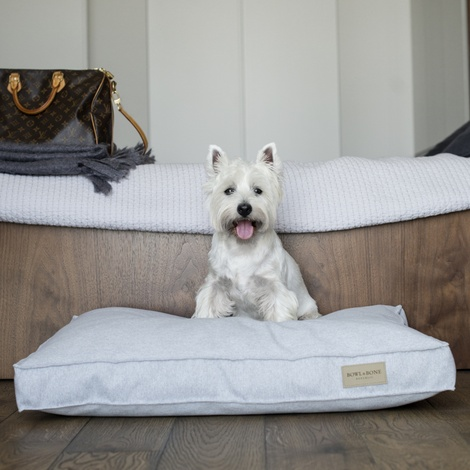 Loft Cushion Dog Bed - Grey 3