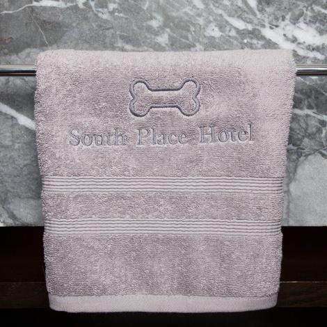 Personalised Pet Towel – Black 4