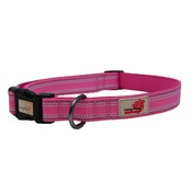 Long Paws - Comfort Padded Dog Collar – Pink