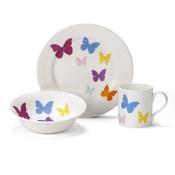 White Rabbit - Butterfly China Set