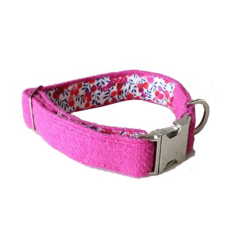 Nessie Harris Tweed Dog Collar