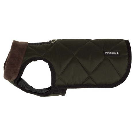 Chelsea Winter Warmer Dog Coat - Green 2