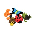 Erwin the Earthworm Plush Dog Toy 5