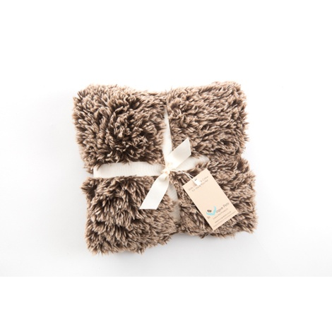 Shaggy Pet Blanket - Brown 2