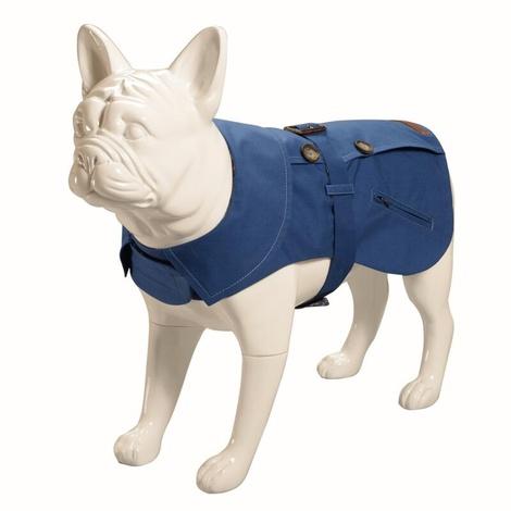 Kensington Dog Trench Coat – Royal Blue & Liberty Karm