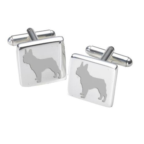 Cufflinks - French Bulldog