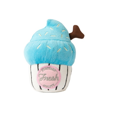 Plush Toy Cupcake - Blue
