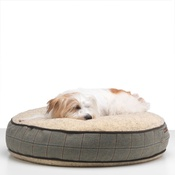 LoveMyDog - Digby Tweed Dog Bed