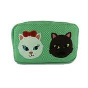 Kate Garey - Kitty Crush Cosmetic Bag