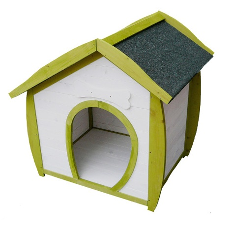 The Woofing-Dale Wooden Dog House