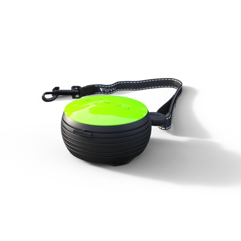 Lishinu Hand-free Retractable Dog Lead - Green