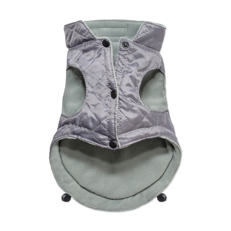 Spirit Quilted Dog Jacket - Grey 2