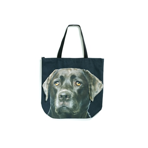 Bingo the Chocolate Labrador Dog Bag