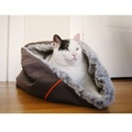 Snuggle Dog & Cat Bed - Husky Grey 6