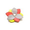 Reflective Flower Accessory - Mixed Neon