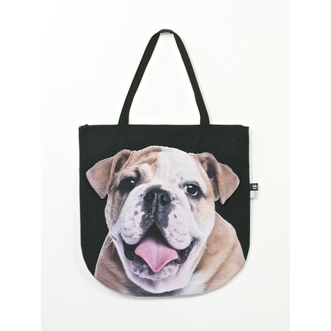 Tuna the British Bulldog Puppy Dog Bag