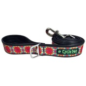 Cycle Dog - Kaleidoscope Red Orange Dog Lead