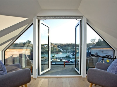 Fowey Penthouse Fowey, Cornwall