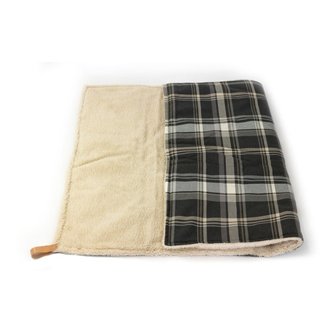 Dog Blanket - Fabric and sherpa wool - Marlow 3