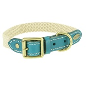 Clementine est. Dogs - Astor Webbing Dog Collar – Blue