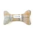 Sand Shetland Wool Dog Bone Toy