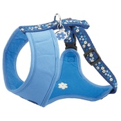Bobby - Flower T Shirt Harness - Blue