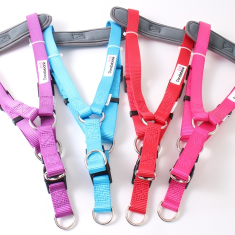 Padded Bold Harness - Pink 2