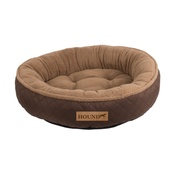 Pet Brands - Hound Donut Dog Bed - Brown