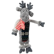 House of Paws - Silent Night Stuffing Free Reindeer