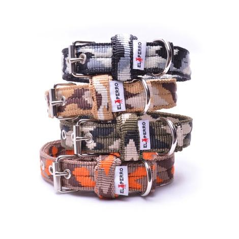 Double Dog Collar – Safari Camo 2