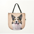 Jingles the Border Collie Dog Bag