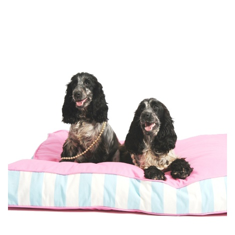 Orthopaedic Dog Bed - Pink & Blue 3
