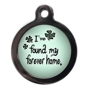 PS Pet Tags - Forever Home Pet ID Tag