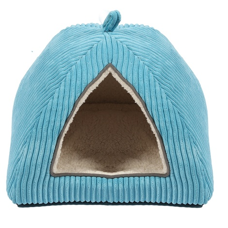 Sweet Dreams Cat Igloo – Blue