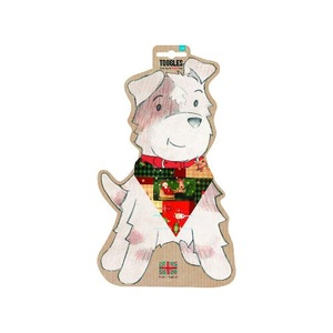 Toggles Dog Bandana - Little Rudolph