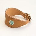 Geo Green Hound Collar 2