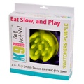 2 in 1 Anti Gobble Feeder and Interactive Game -Purple 3
