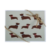 Flossie & Bumble - Dachshund Note Cards (x 8)