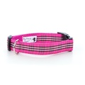 Pink Burberry Plaid Dog Collar