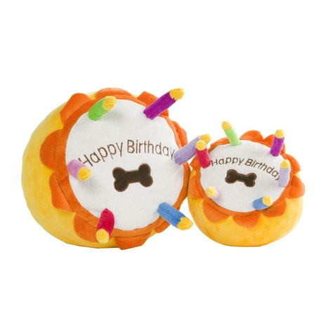 Birthday Cake Squeaky Dog Toy 2