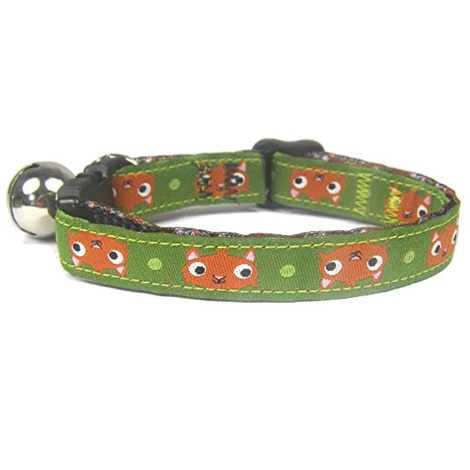 Squirrel Print Cat Collar