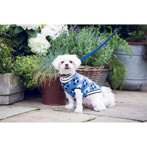 Diamond Aztec Cashmere Dog Sweater 2