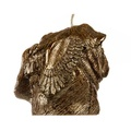 Winged Pug Candle - Bronze 2